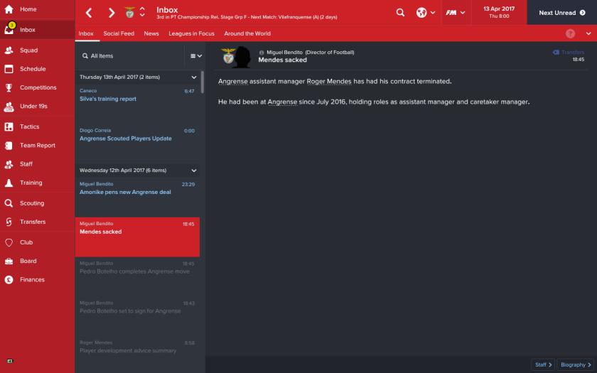 22 roger sacked