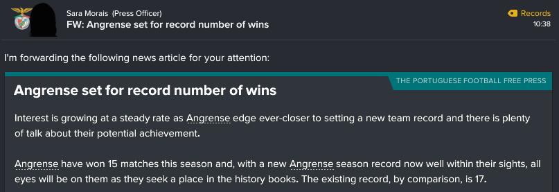 42 1 win record