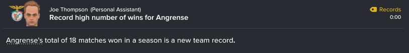 44 2 record wins