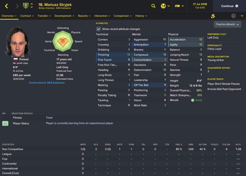 52 7:7 striker