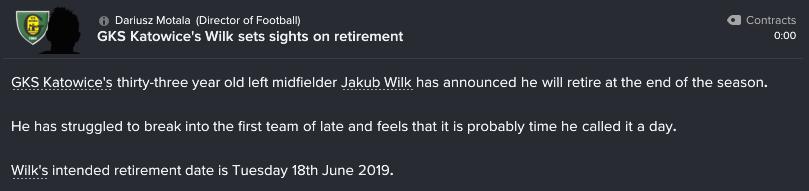 64 33 wilk retiring