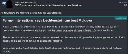 100 1 3 we can beat moldova