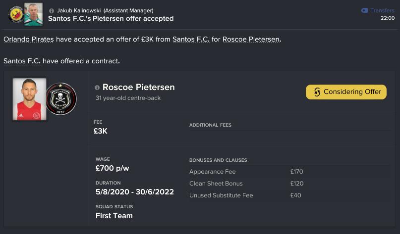 96 94 roscoe contract