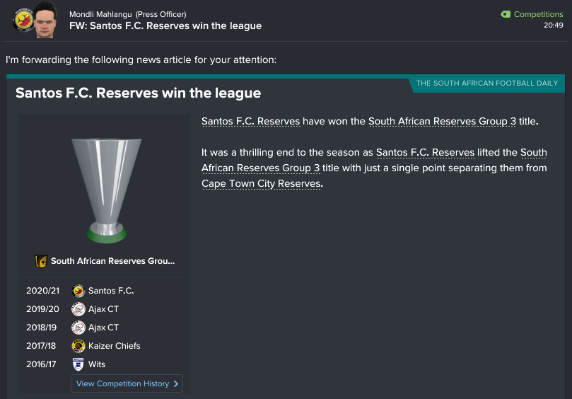 115 2 9 reserves win