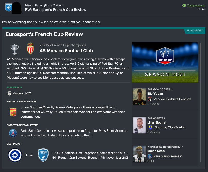 145.5.5 1 1 french cup review