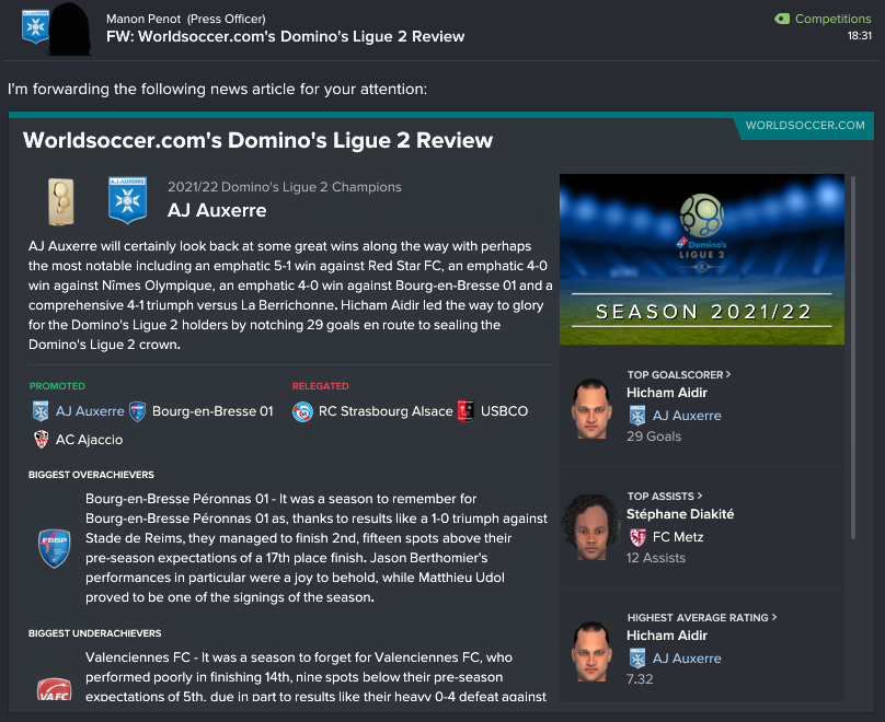 145.5.5 1 15 ligue 2 review