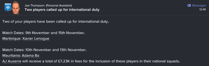 154 2 9 players called up
