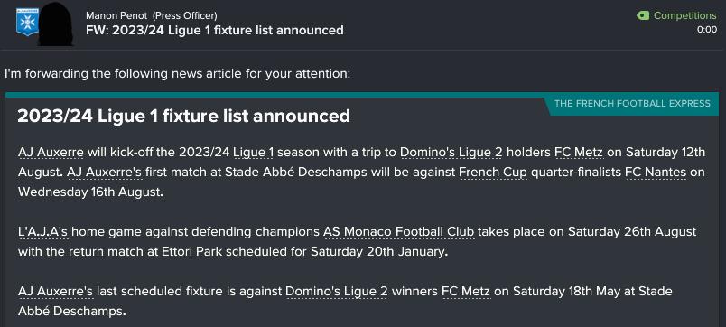 176 1 11 fixtures announced