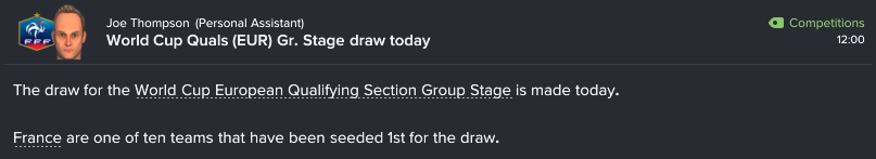189 1 16 draw made