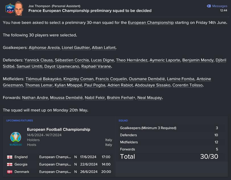 199.5 4 preliminary squad